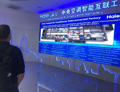 Inovato na stretnutiach v podnikoch v Čine